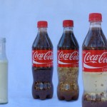Coca Cola and Milk Experiment