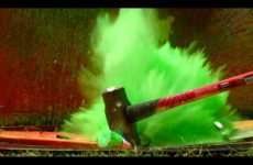 Exploding Spray Paint at 2500fps