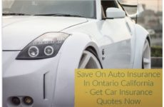 Walkin Cheap Car Insurance Ontario CA