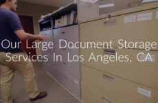 West Coast Archives : Large Document Storage in Los Angeles, CA
