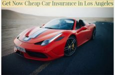 Get Now Cheap Car Insurance in Los Angeles