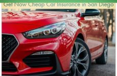 Get Now Cheap Car Insurance in San Diego