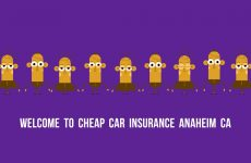 Cheap Car Insurance in Anaheim CA