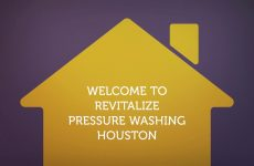 Concrete Cleaning in Houston By Revitalize Pressure Washing