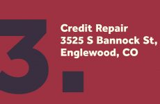 Credit Repair in Centennial CO