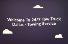 24/7 Tow Truck – Towing Service in Dallas TX