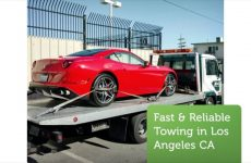 Tow Truck –  Towing Service in Los Angeles, CA